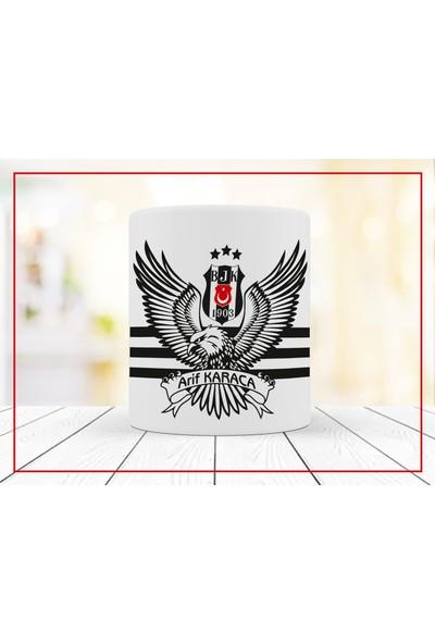 Kişiye Özel Isimli Beşiktaş Kupa Bardak