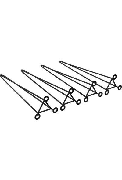 Kenzlife Larose Masa Ayağı 4 Lü Efdal Syh 073 cm Metal Ayak Firkete