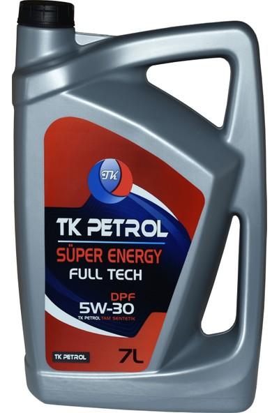 Tk Petrol 5W30 Dpf Partiküllü 7 lt Üretim Yılı 2021