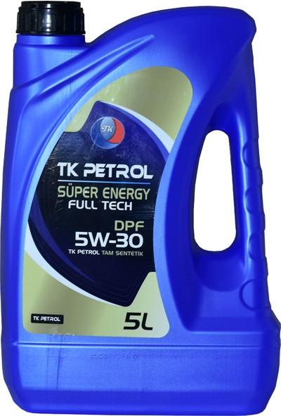 Tk Petrol 5W30 Dpf Partiküllü 5 lt Üretim Yılı 2021
