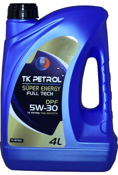 Tk Petrol 5W30 Dpf Partiküllü 4 lt Üretim Yılı 2021