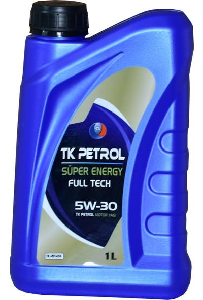Tk Petrol Partiküllü 5W-30 1 Litre Motor Yağı ( Üretim Yılı :2021 )