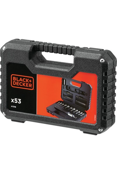 Black&Decker Black+Decker A7218-XJ 53 Parça Çırçırlı Tornavida Seti