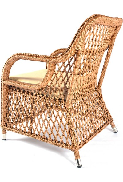 Üçyıldız Mercan Rattan Sandalye