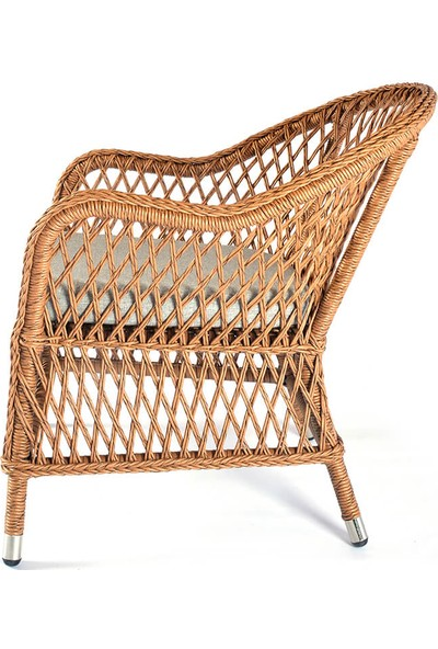 Üçyıldız Gelincik Rattan Sandalye