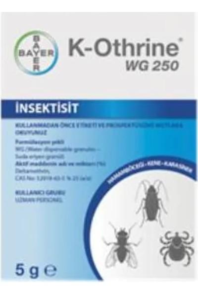 Bayer K-Othrine Wg 250 Genel Haşere Kovucu 10 x 5 G