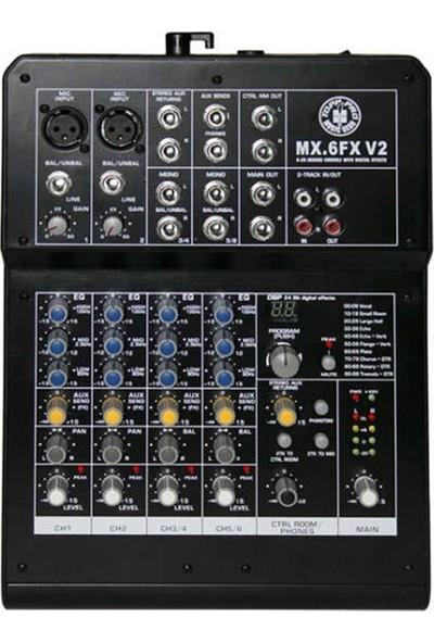 Topp Pro Mx.6 Fx V2 6 Kanal Efektli Deck Mixer