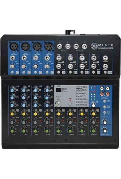 Topp Pro MXI.12FX 12 Kanal Efektli Deck Mixer