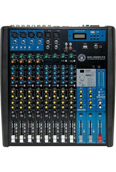 Topp Pro MXI.1222CFX 12 Kanal Deck Mixer