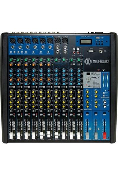 Topp Pro MXI.1422CFX 14 Kanal Deck Mixer