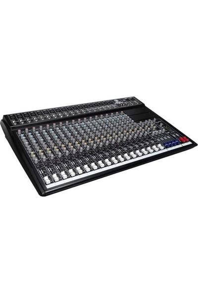 Topp Pro MX2442/EQ+DSP 24 Kanal Dsp+Eq Profesyonel Deck Mixer