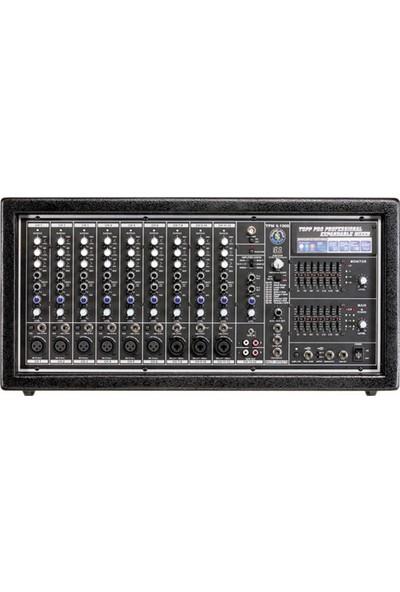 Topp Pro Tpm 9.1000+TAC-MP3-T 14 Kanal Efektli/mp3 Çalar Power Mixer