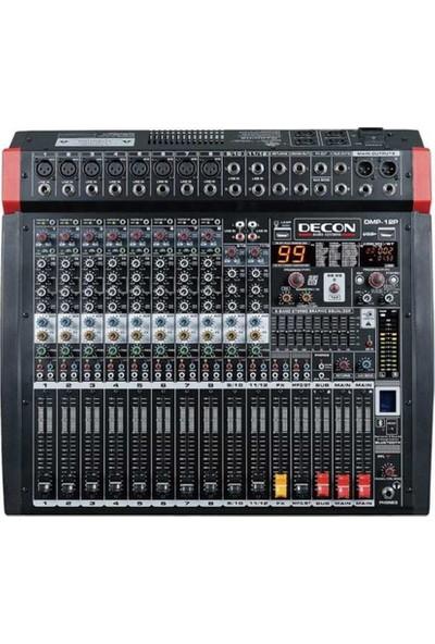 Decon DM-12P 12 Kanal 1300W Power Mikser