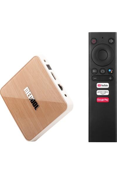 Mecool Km6 Deluxe Smart Android 10.0 TV Kutusu UHD US-64G (Yurt Dışından)