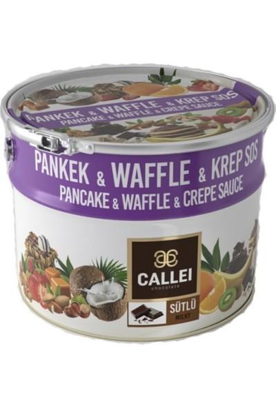 Callei Sütlü Çikolata Waffle - Lokma - Pancake - Fondü 10 kg