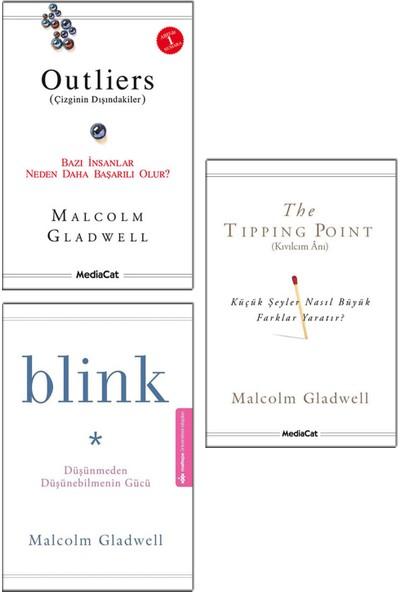 Outliers + The Tipping Point (Kıvılcım Anı) + Blink (Düşünmeden Düşünebilmenin Gücü) - Malcolm Gladwell 3 Kitap Seti