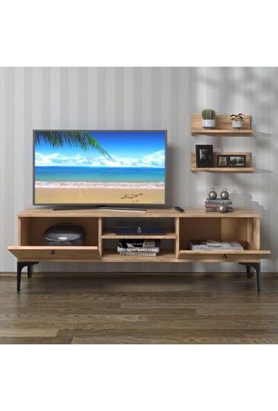 Hepsi Home Miraj Metal Ayaklı Tv Ünitesi