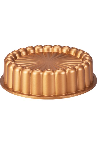 Emsan Mira 22 cm Tart Kalıbı Gold