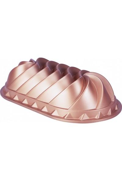 Emsan Lavin Döküm Kek Kalıbı Golden Pink
