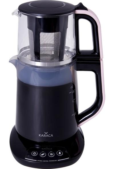 Karaca Demfit 2501 Sesli ve Işıklı Çay Makinesi Pink Gold