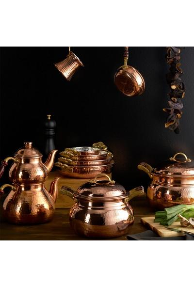 Karaca Nish Copper New Bakır Cezve Büyük