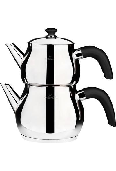 Karaca Layla Black Çaydanlık Takımı