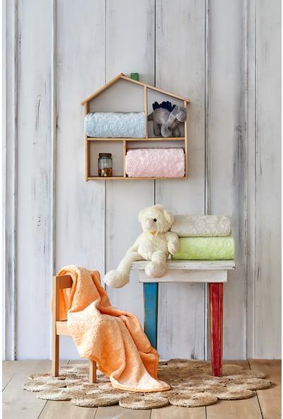 Karaca Home Candy Yavruağzı Bebek Embosy Battaniye