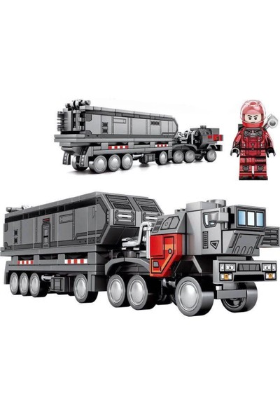Meva Kargo Tır LEGO 250 Parça Lisanslı LEGO Kargo Tır Seti