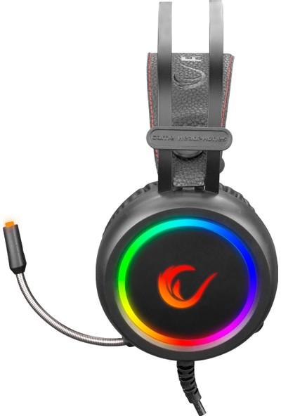 Rampage Stormy 7.1 USB Siyah Surround Oyuncu Kulaklık+Mikrofon