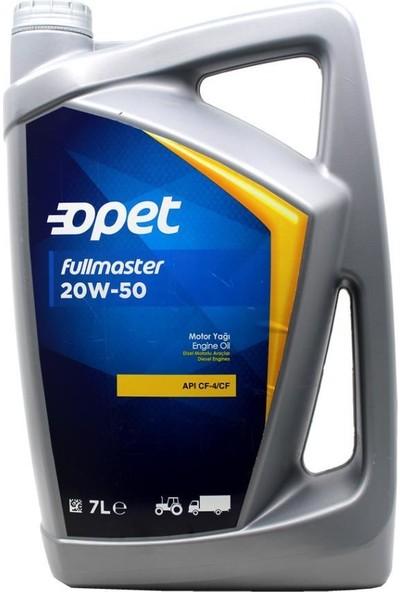 Opet Fullmaster 20W/50 Dizel Motor Yağı 7 Litre