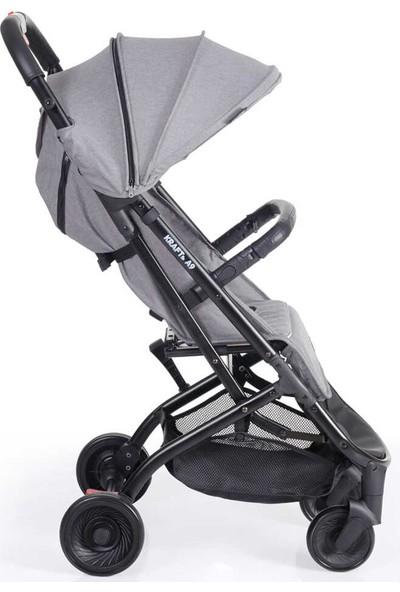 Kraft A9 Kabin Tipi Bebek Arabası - Gri