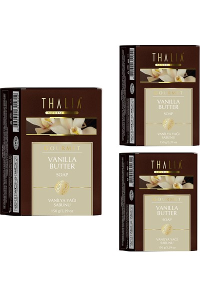 Thalia Vanilya Butter Sabunu 150 gr x 3 Adet