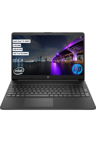 "HP 15S-FQ2019NT Intel Core i7 1165G7 8GB 256GB SSD Freedos 15.6"" FHD Taşınabilir Bilgisayar 2N2M0EA"