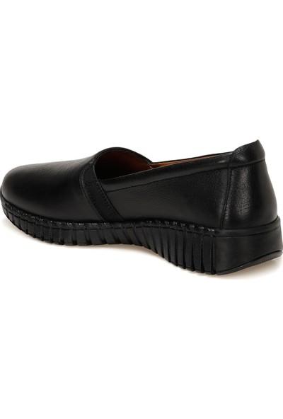 TRV1807.Z1FX Siyah Kadın Comfort Ayakkabı