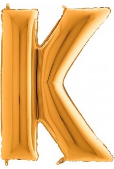 Grabo Harf Balon Folyo 100 cm Gold K