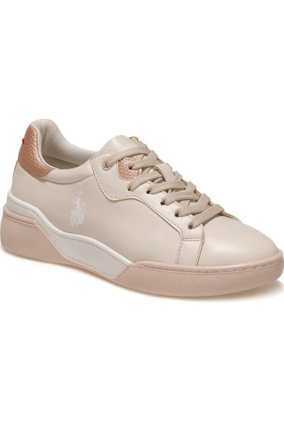 U.S. Polo Assn. Taffy 1fx Bej Kadın Sneaker