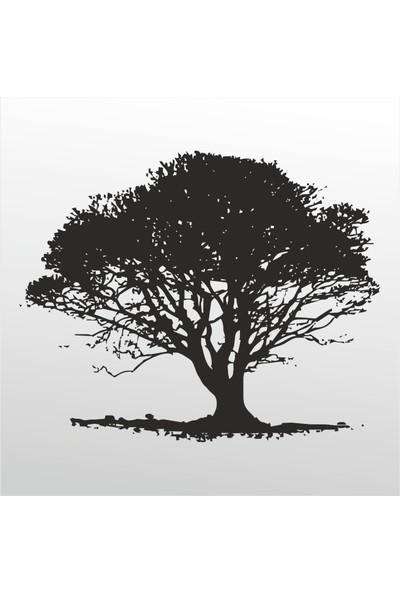 Technopa Folyo Sticker Ağaç 119 20 cm Uzunluk Dekoratif Sticker