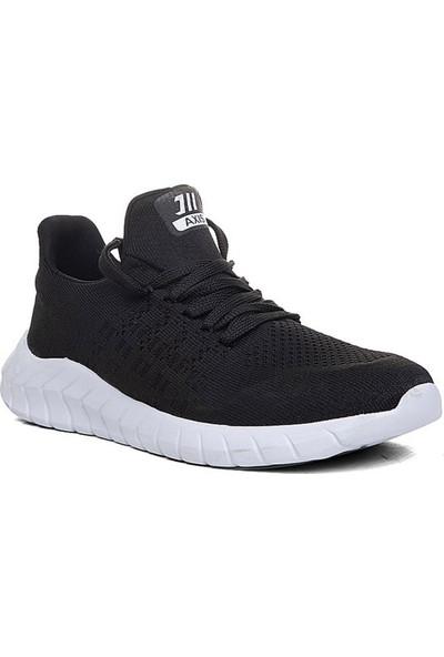 Axis Siyah Beyaz Erkek Spor Ayakkabı