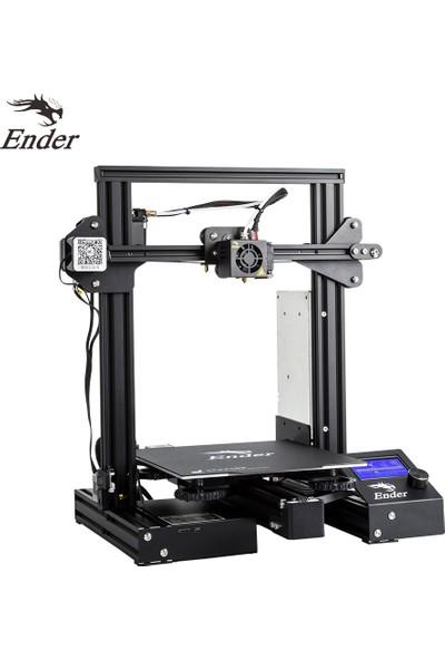 Creality 3D Ender-3 Pro Yüksek Hassasiyetli 3D Yazıcı (Yurt Dışından)