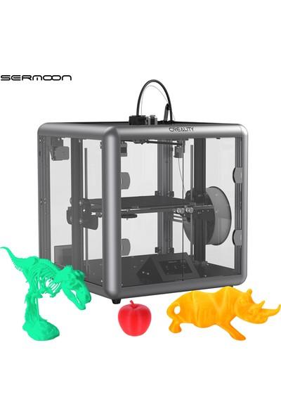 Creality 3D Sermoon D1 Yüksek Hassasiyetli Kapalı 3D Yazıcı (Yurt Dışından)