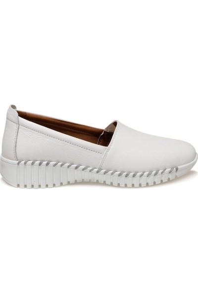 TRV1807.Z1FX Beyaz Kadın Comfort Ayakkabı