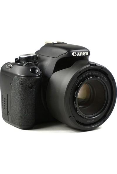 Canon Ef 50MM F/1.8 Stm Lens Için Es-68 Iı Yaprak Parasoley