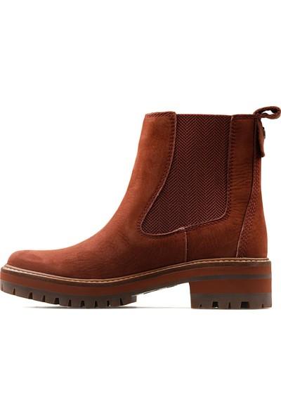 Timberland Kahverengi Kadın Günlük Ayakkabı TB0A23WJV171 Courmayeur Valley Chelsea