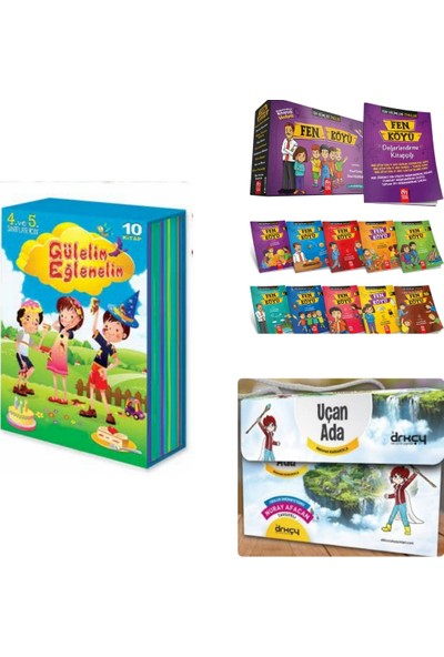 Model Eğitim Yayıncılık 4. Sınıf Hikayeleri Fen Köyü + Gülelim Eğlenelim ve Uçan Ada