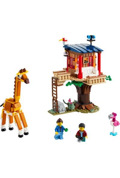 LEGO Creator 3in1 31116 Safari Wildlife Tree House