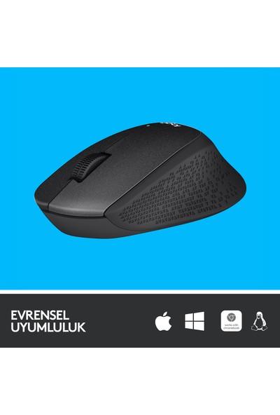 Logitech M330 Sessiz Kablosuz Mouse-Siyah