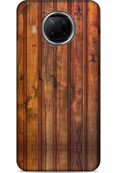 Lopard Xiaomi Redmi Note 9 Pro 5g Uyumlu Kılıf Wood'x (10) Full Koruma Kılıfı Desenli