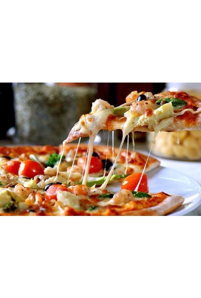 İly Granit Delikli Pizza Tepsisi 36 cm.