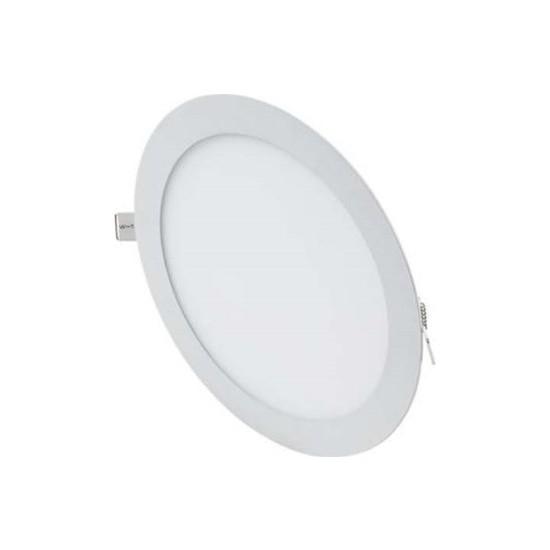 Ookay LED Panel Yuvarlak 9W Ac 180-265V Dc 50-70V 50-60HZ 6500K LED Işık Beyaz Yuvarlak Panel Ookay