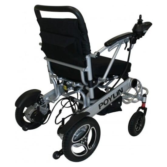 Poylin P206 Ultra Hafif Katlanabilir Elektrikli Akülü Sandalye